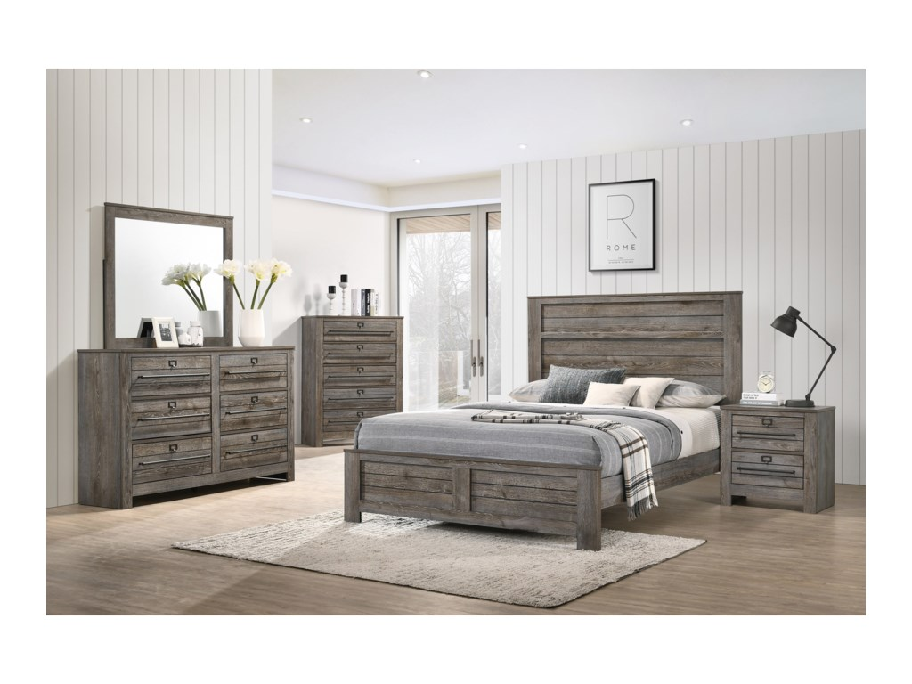 Crown Mark BatesonKing Bed