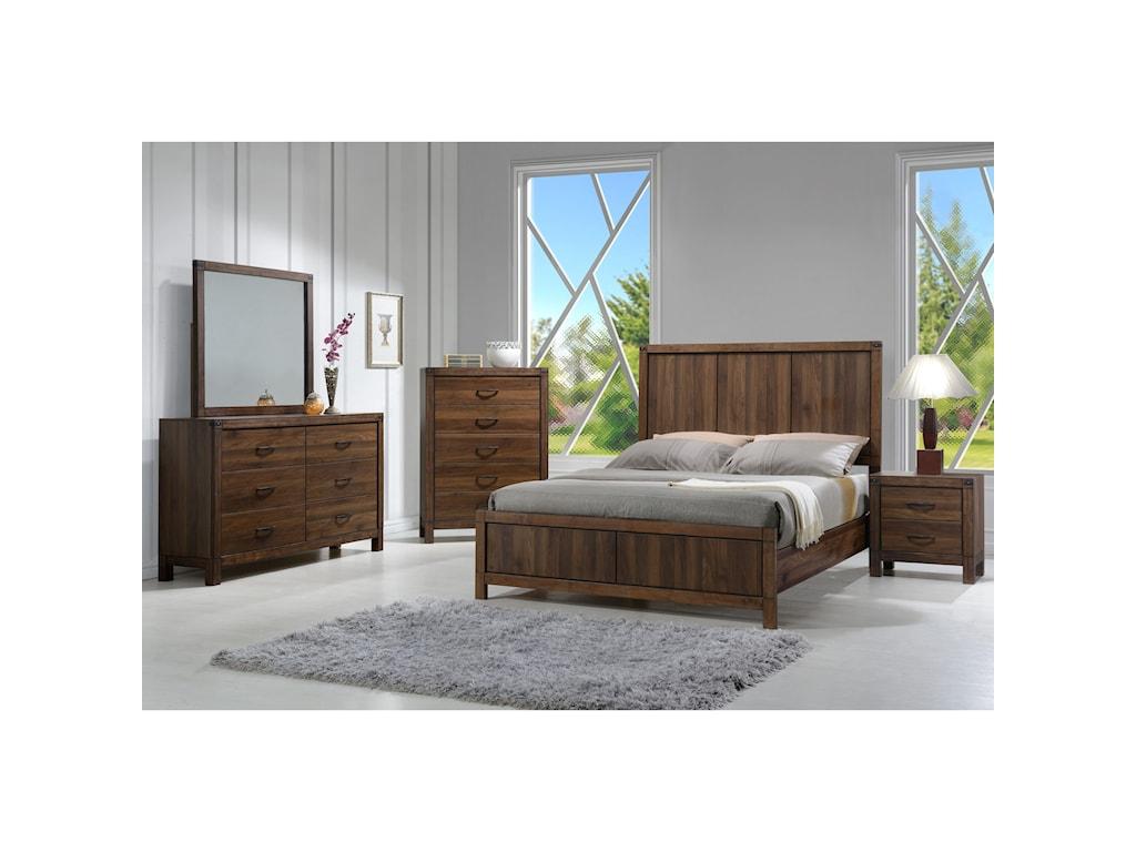 Crown Mark BelmontKing Bedroom Group