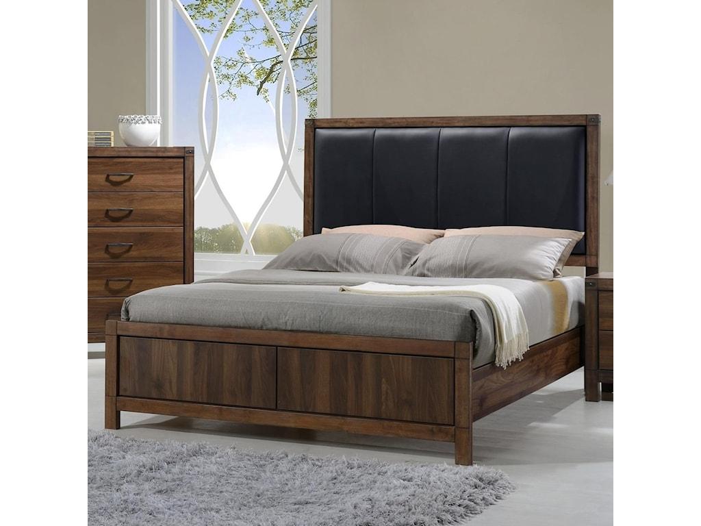 Crown Mark BelmontQueen Headboard and Footboard Bed