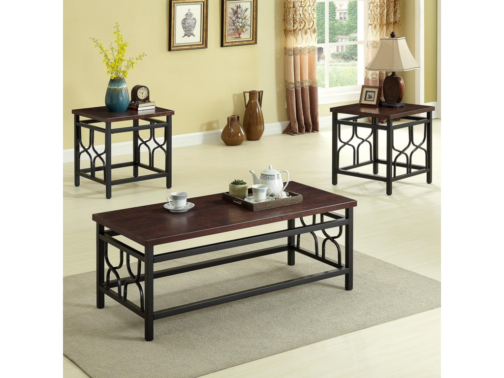 Crown Mark Benjamin AccentAccent Table Group