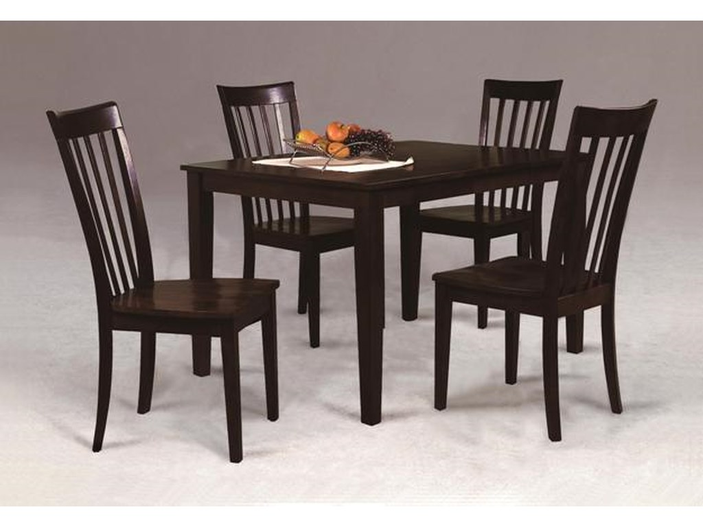 Crown Mark Brodyfive Piece Dining Set