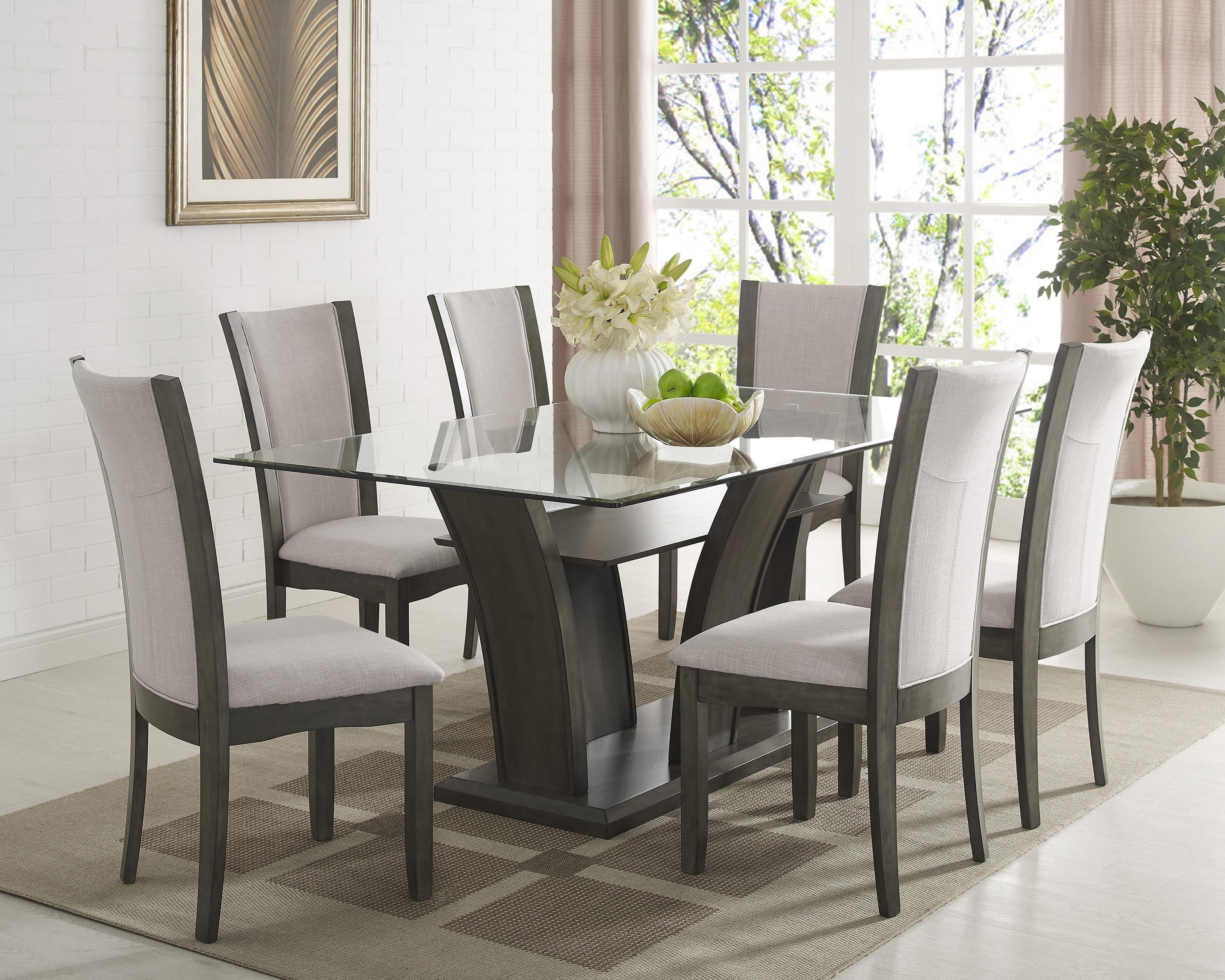 Crown Mark Camelia Grey5 Piece Dining Set