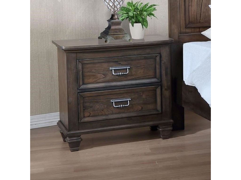 Crown Mark CampbellNightstand