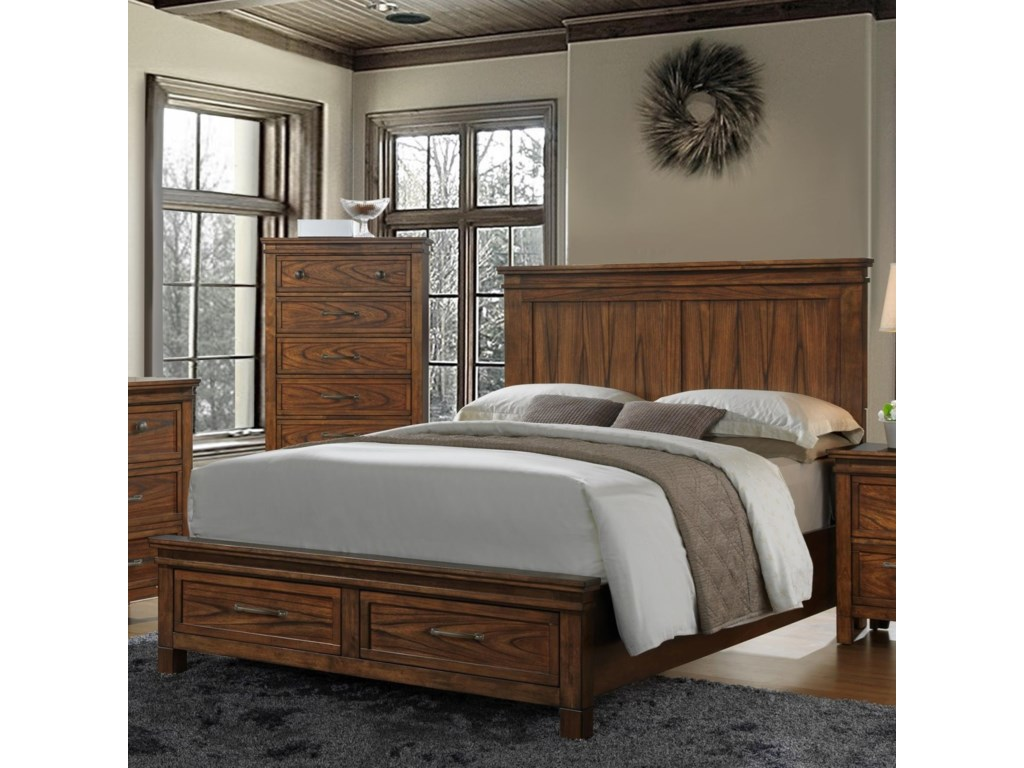 Crown Mark CassidyKing Storage Bed