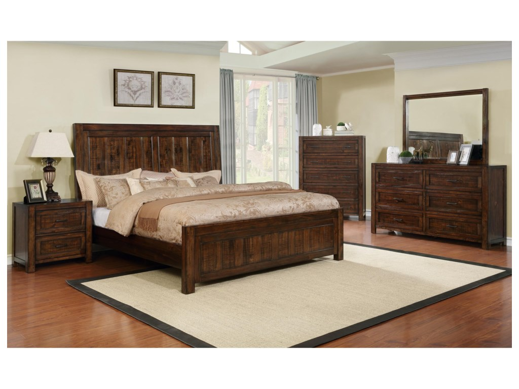 Crown Mark Christian King Bedroom Group | Dunk & Bright Furniture ...