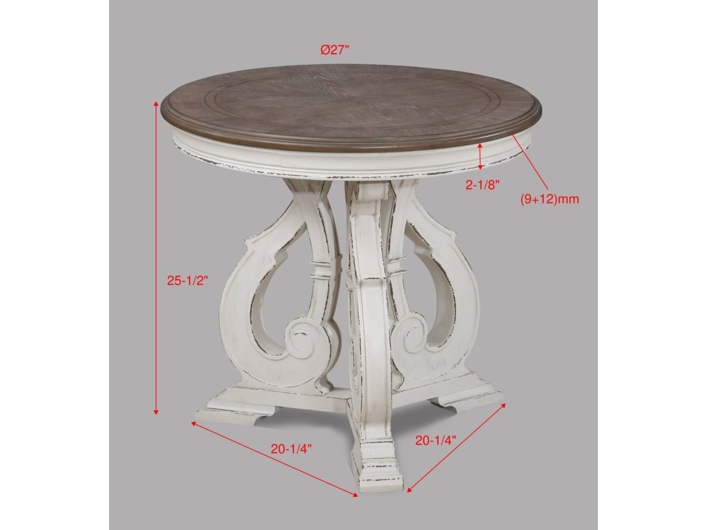 Crown Mark ClementineEnd Table