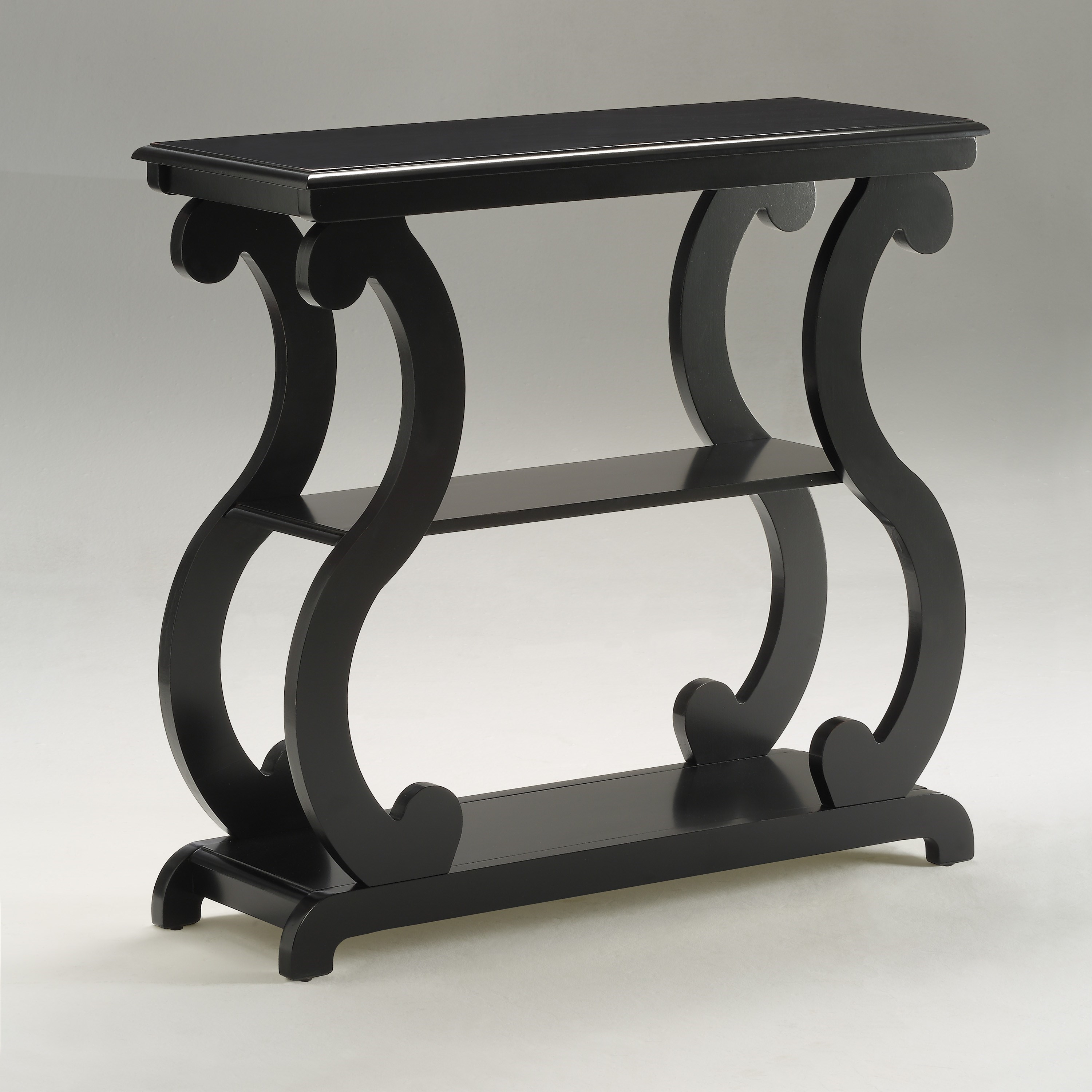 Console Tables Console Table With S Shaped Legs By Crown Mark