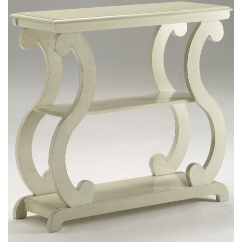 Crown Mark Console Tables  Console Table with S-Shaped Legs