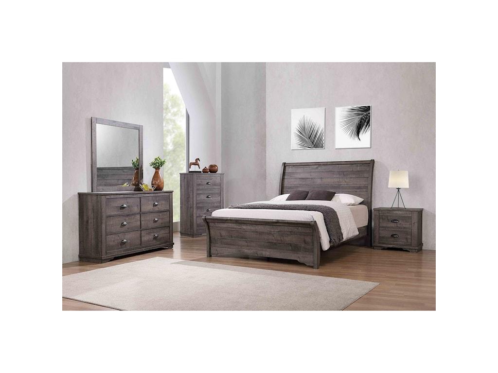 Crown Mark CoraleeQueen Bedroom Group