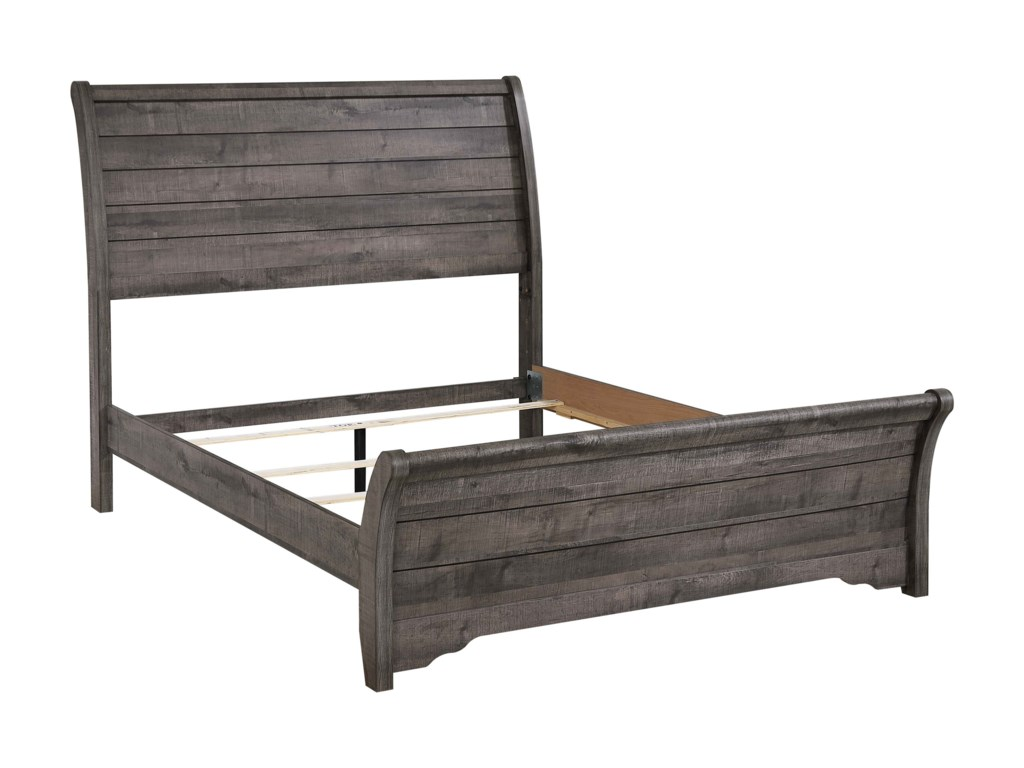 Crown Mark CoraleeKing Sleigh Bed