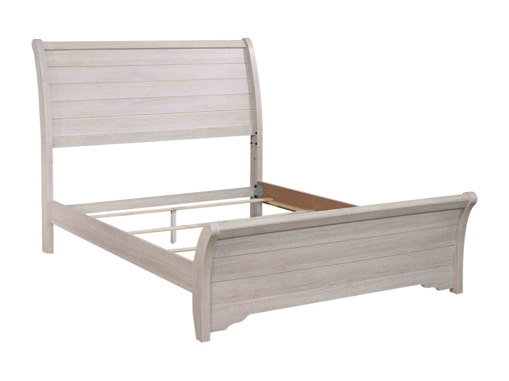 Crown Mark CoraleeQueen Sleigh Bed