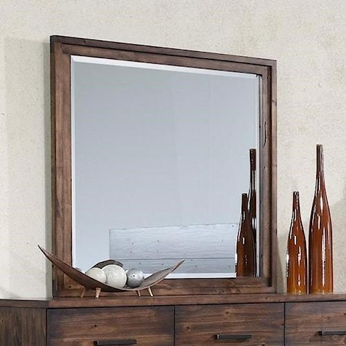 Crown Mark Cranston Beveled Dresser Mirror