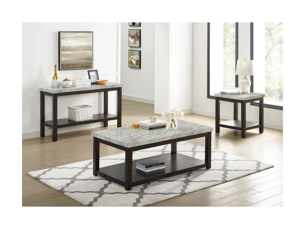 Crown Mark DeaconCoffee Table w/ Casters