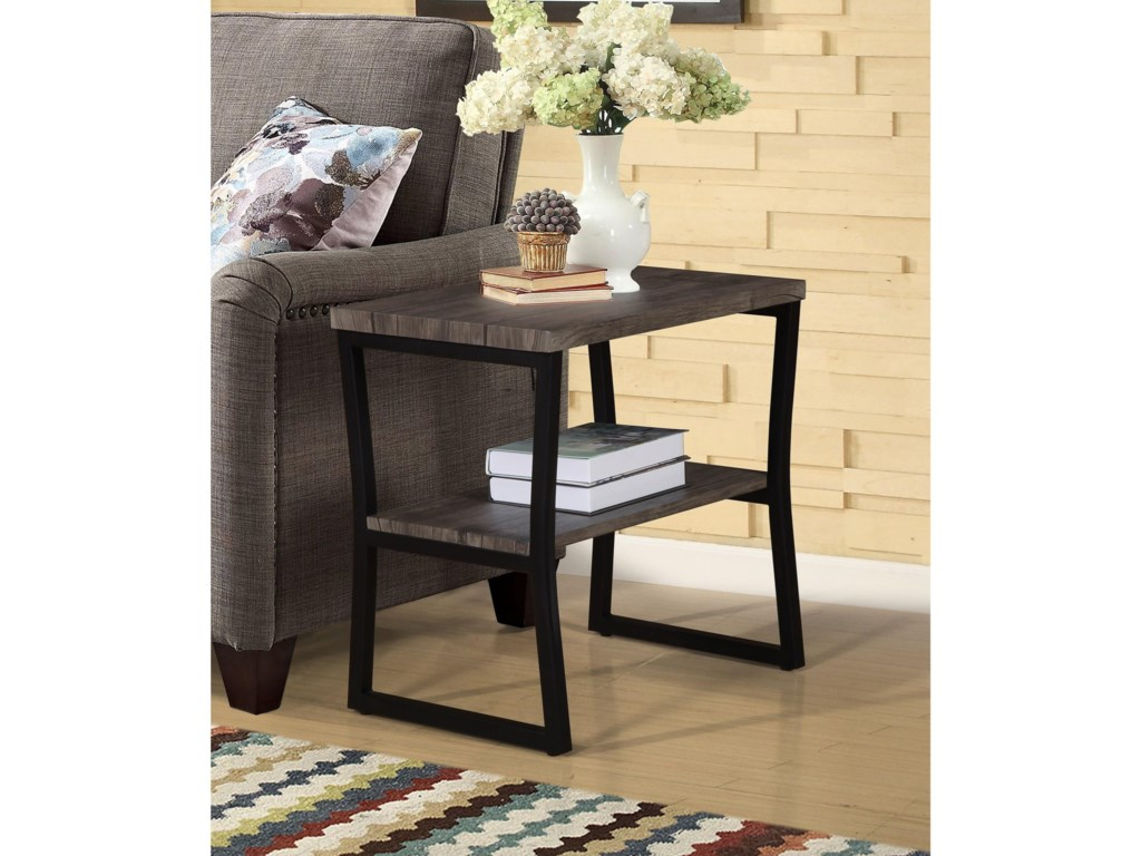Crown Mark DenverChairside Table