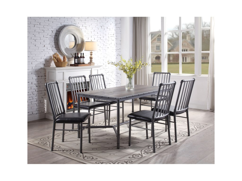 (Up to 50% OFF sale price) Collection # 1 Devar7 Piece Dining Set