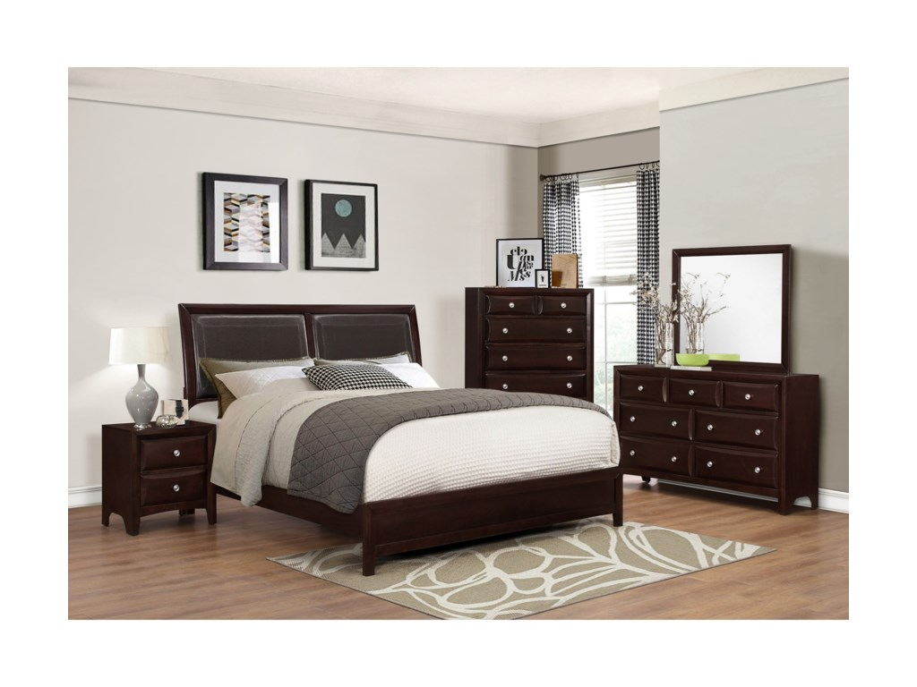 Crown Mark DonovanKing Bedroom Group
