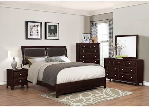 Crown Mark Donovan Queen Bedroom Group