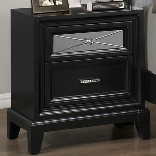CM Elisa Night Stand with 2 Drawers