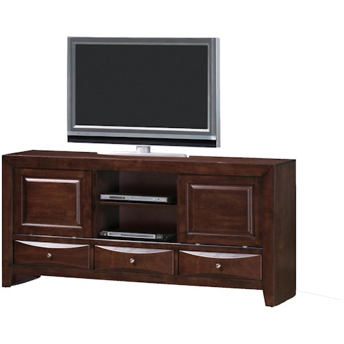 Crown Mark Emily Transitional TV Stand