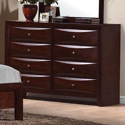 CM Emily Contemporary 8 Drawer Dresser