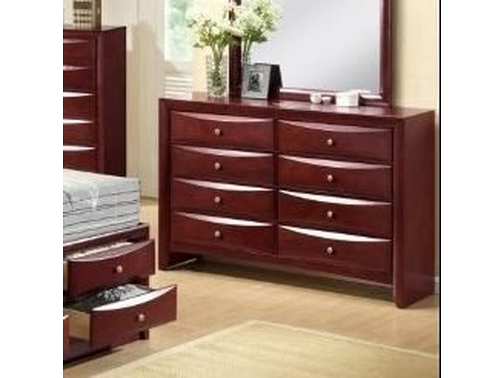 Crown Mark EmilyContemporary Dresser