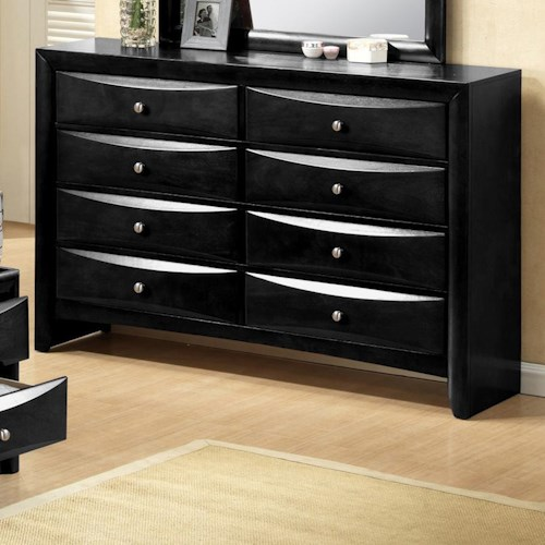 CM Emily Contemporary 8 Drawer Dresser