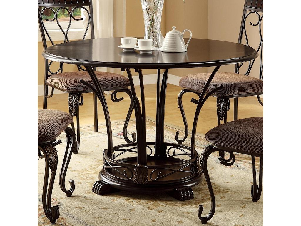 Crown Mark Emma5 Piece Table & Chair Set