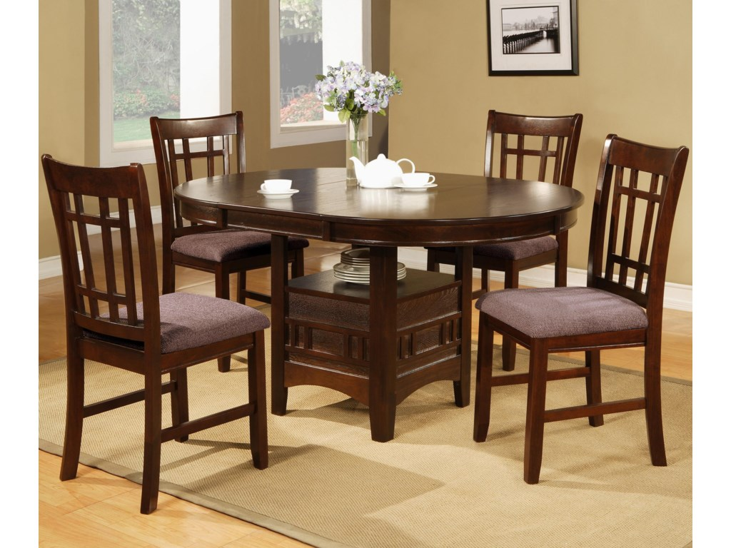 Crown Mark Empire5 Piece Table Chair Set