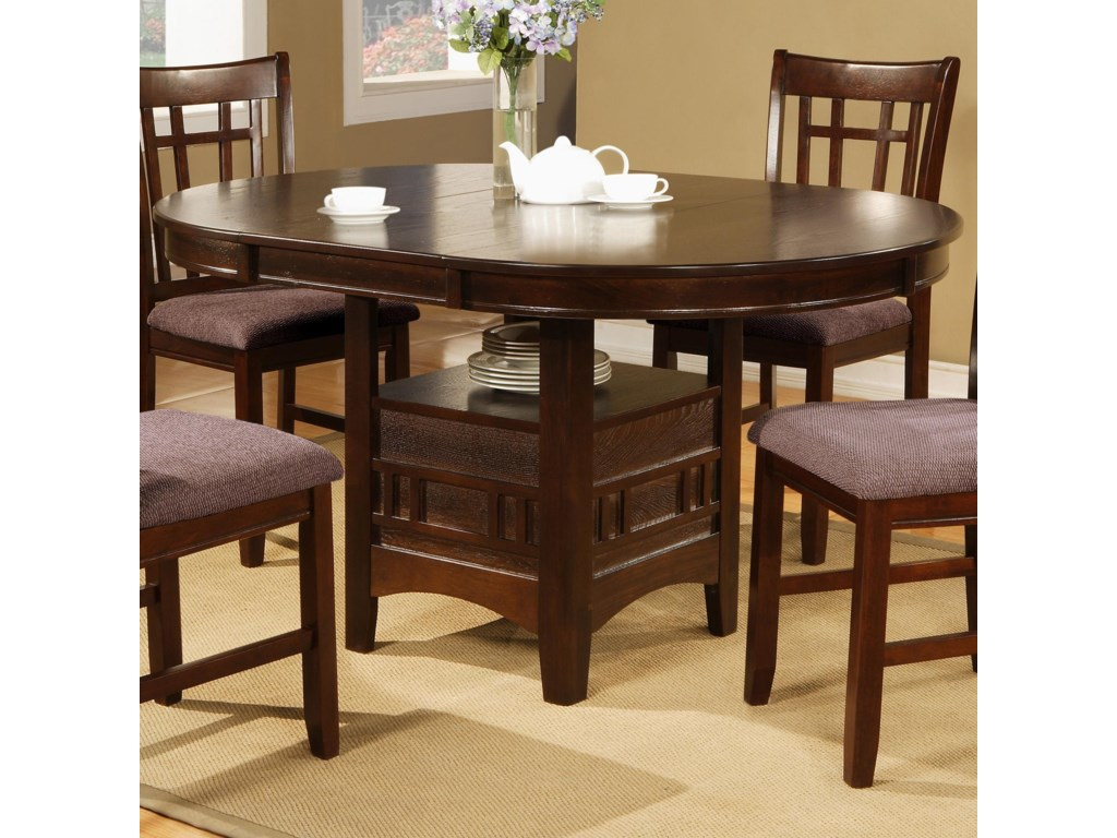 Crown Mark Empire5 Piece Table & Chair Set