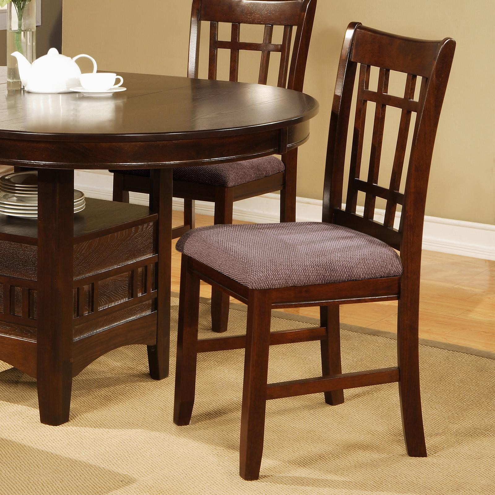 Charming Crown Mark Empire Dining Side Chair With Upholstered Seat