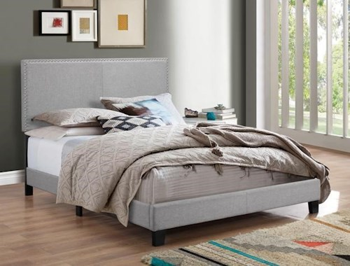Crown Mark 5271GY KING BED
