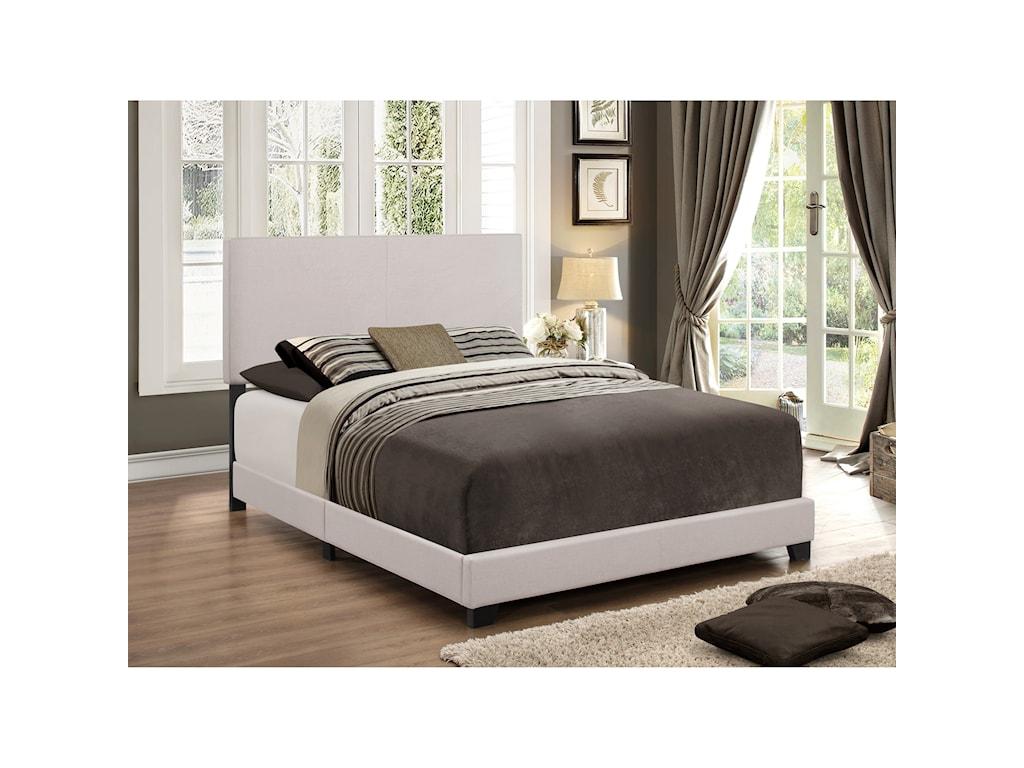 Royal Fair ErinFull Upholstered Headboard Bed