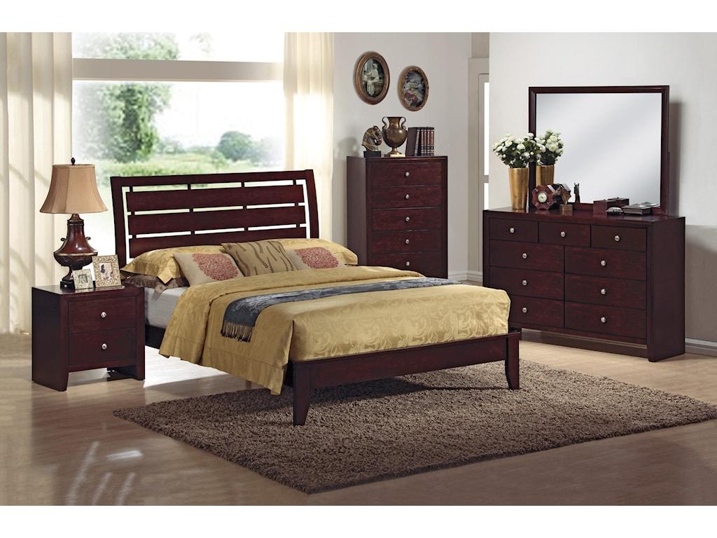 CM Evan4 Piece Bedroom Group