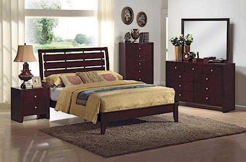 CM Evan 4 Piece Bedroom Group