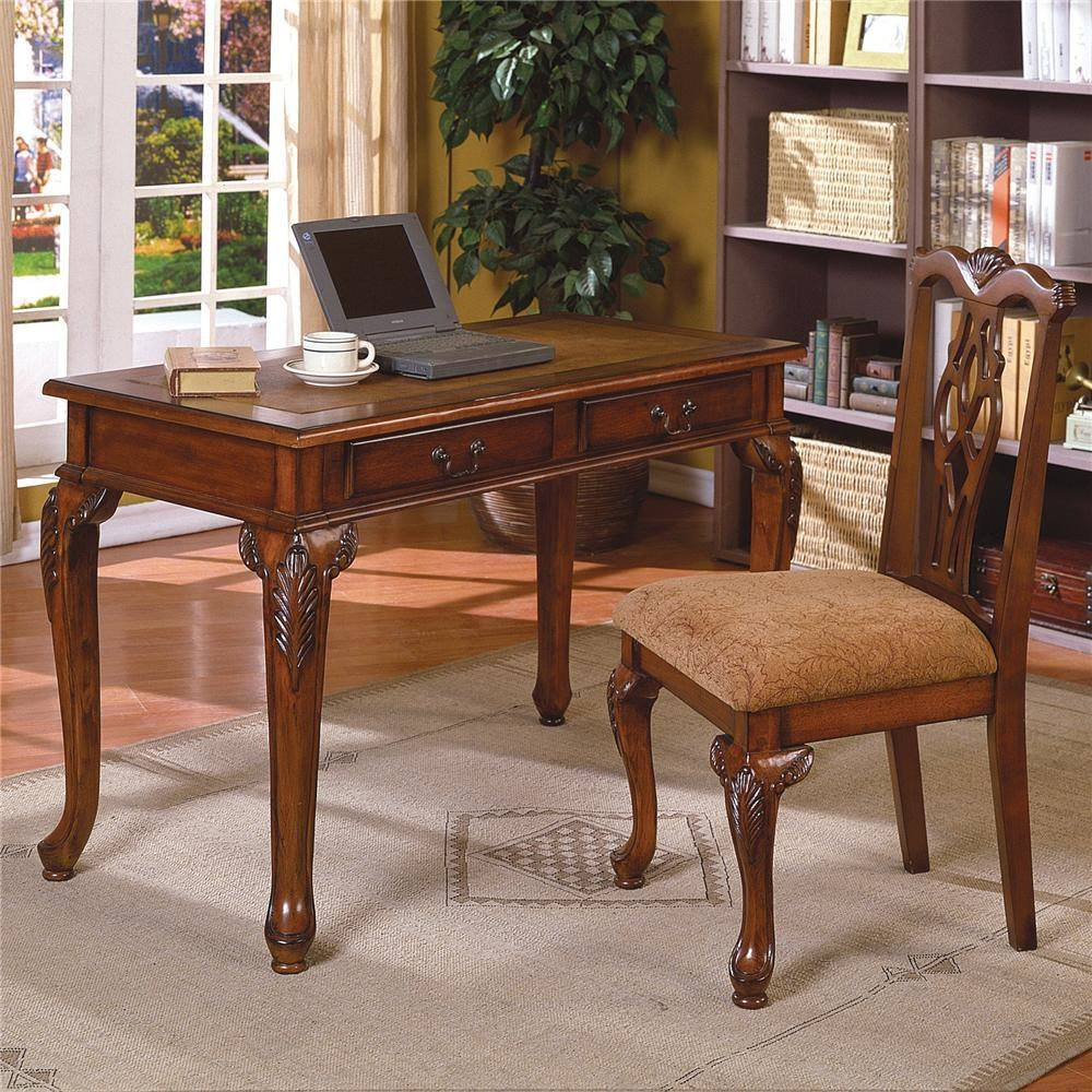 home office set. crown mark fairfax home office desk u0026 chair set