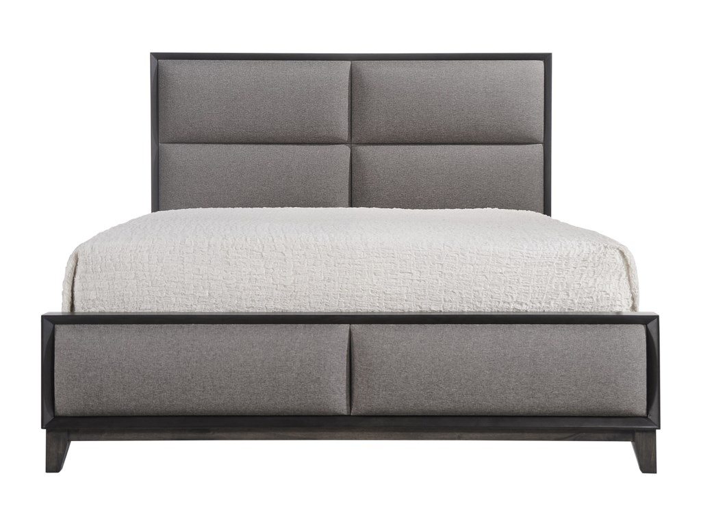 Crown Mark FlorianKing Upholstered Bed