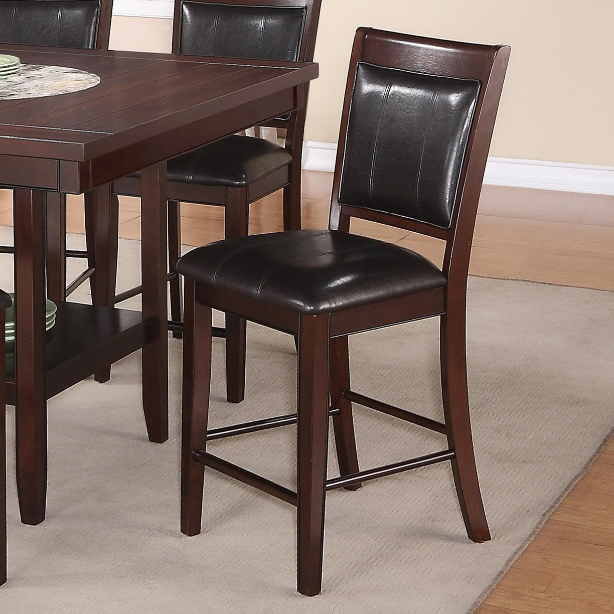 Crown Mark Fulton Transitional Counter Height Chair