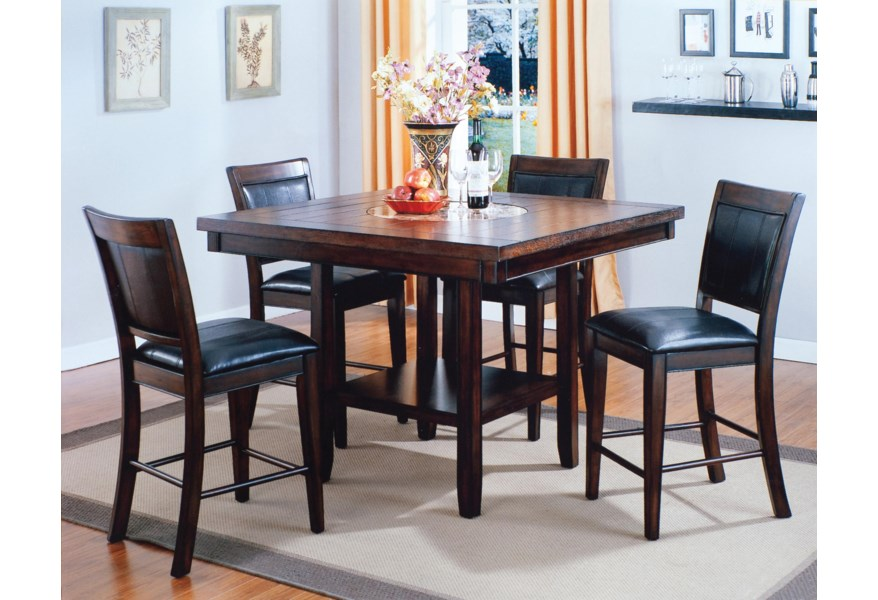 Fulton Counter Height Table and Chair Set