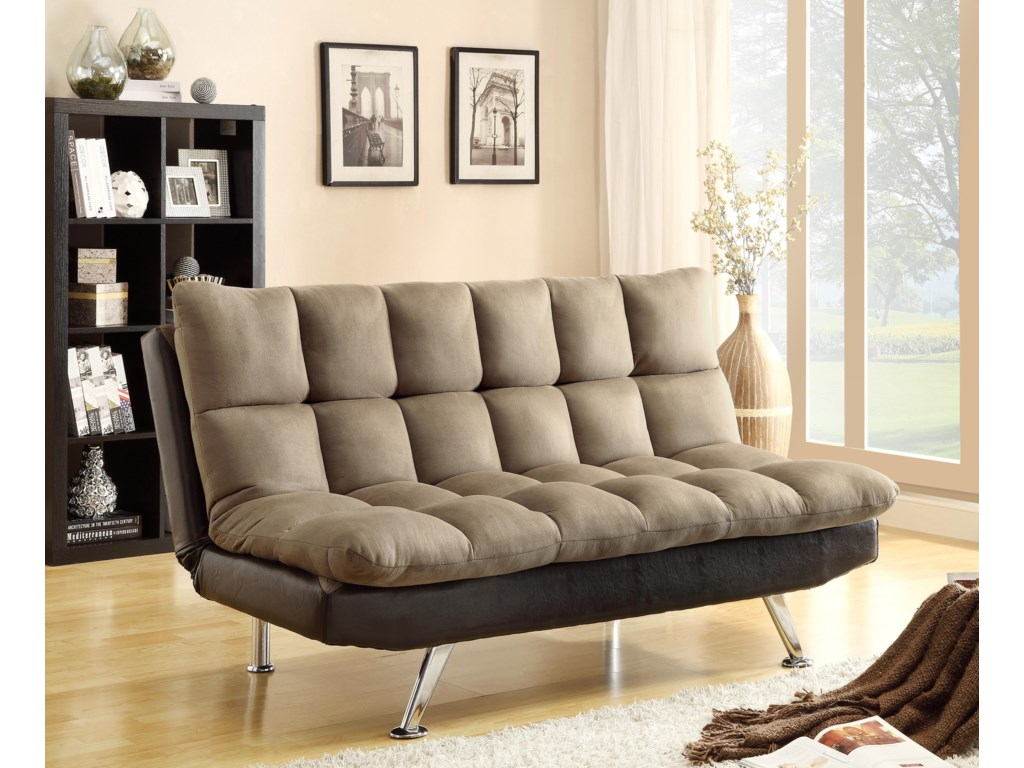 Crown Mark Futons Daybedsadjule Sofa