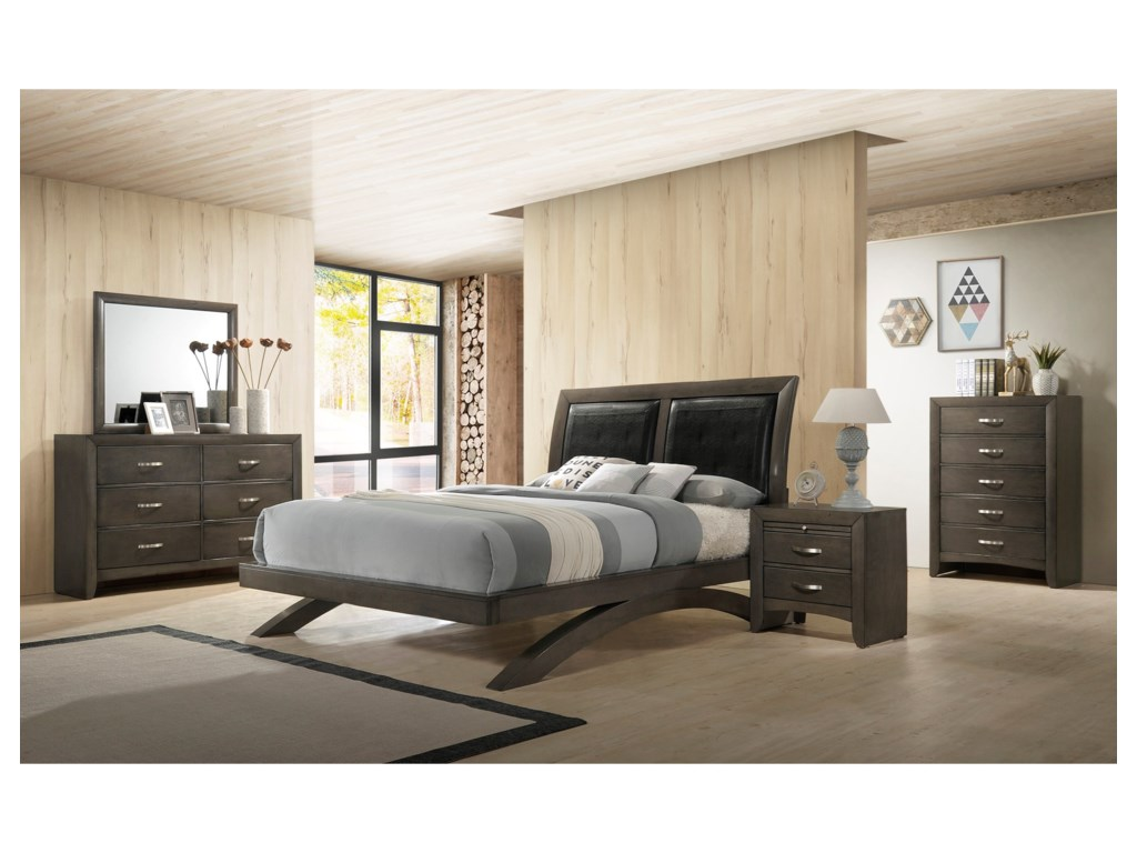 Crown Mark GalindaKing Bedroom Group