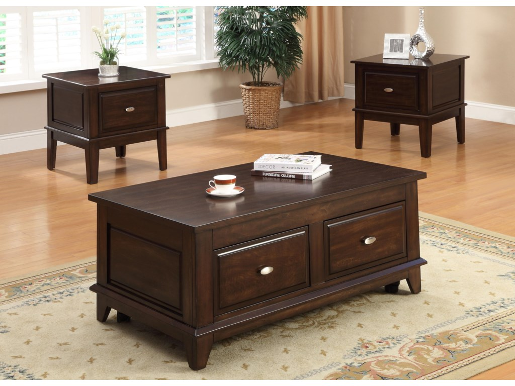 Shown with End Tables