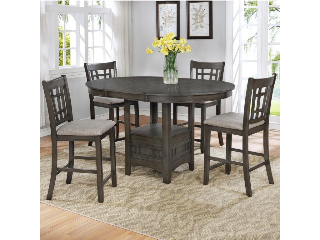 Crown Mark HartwellFive Piece Pub Table Set