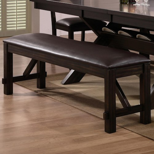 CM Havana Upholstered Dining Bench