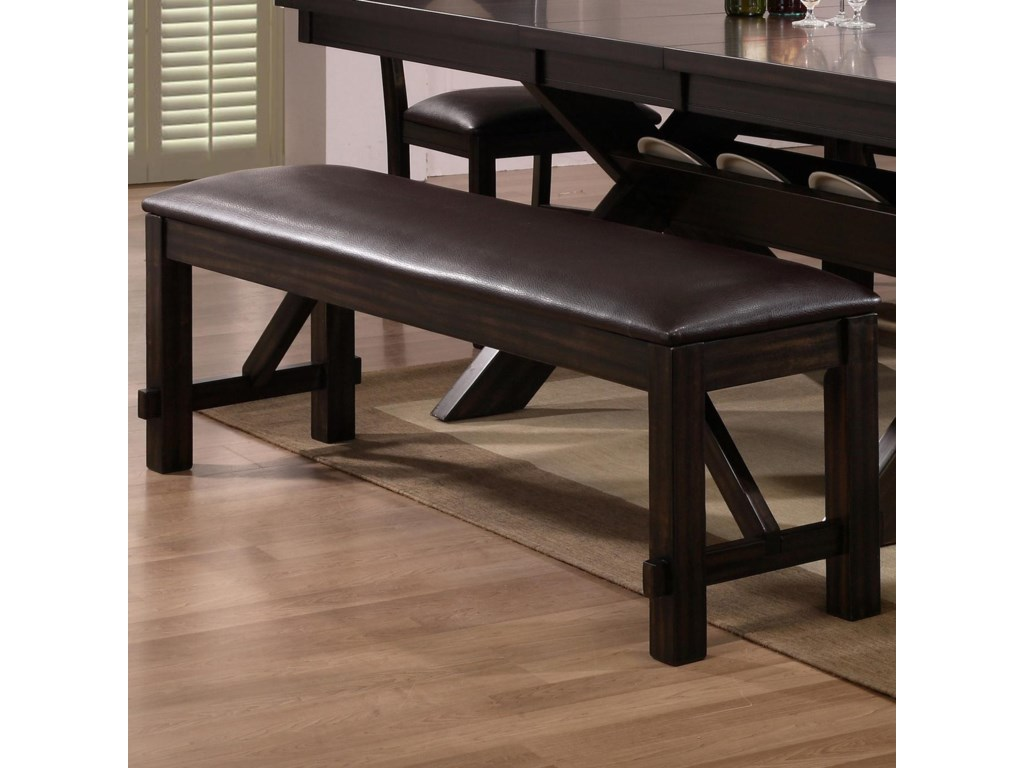 Dining Bench Shown