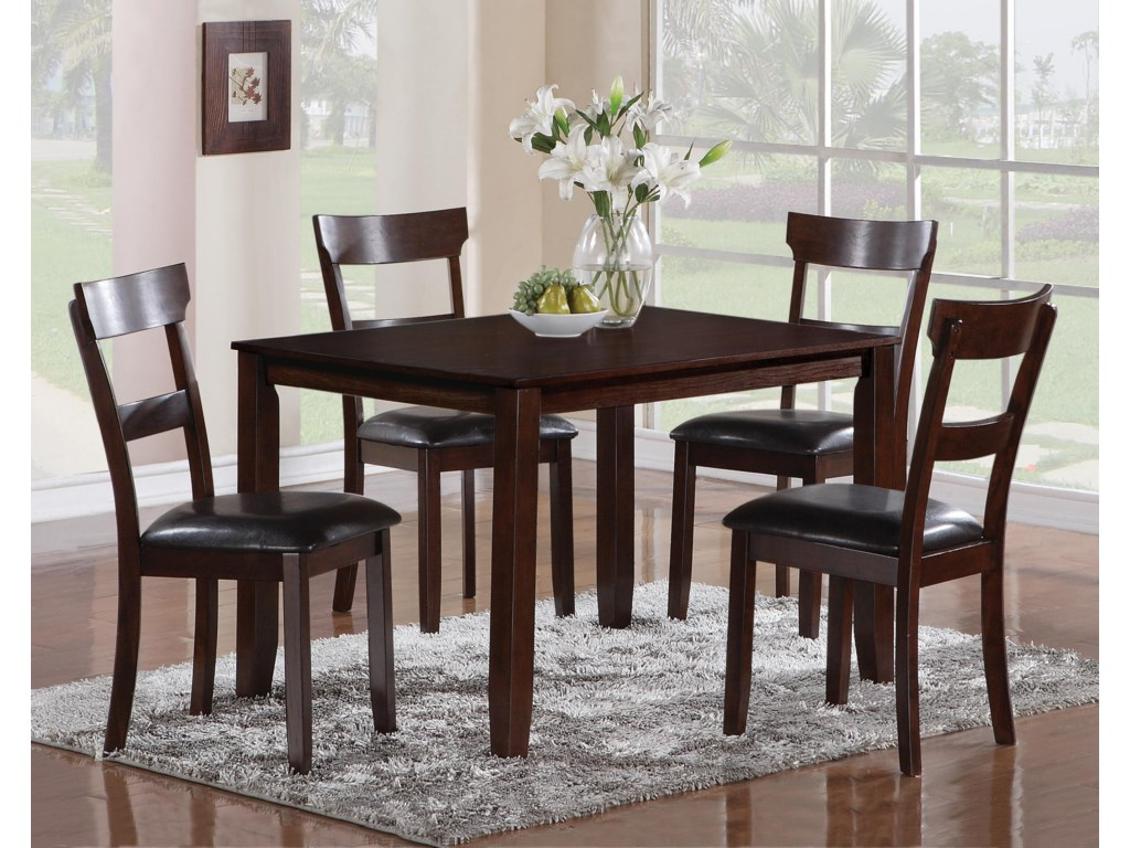 CM Henderson5 Piece Dining Table Set