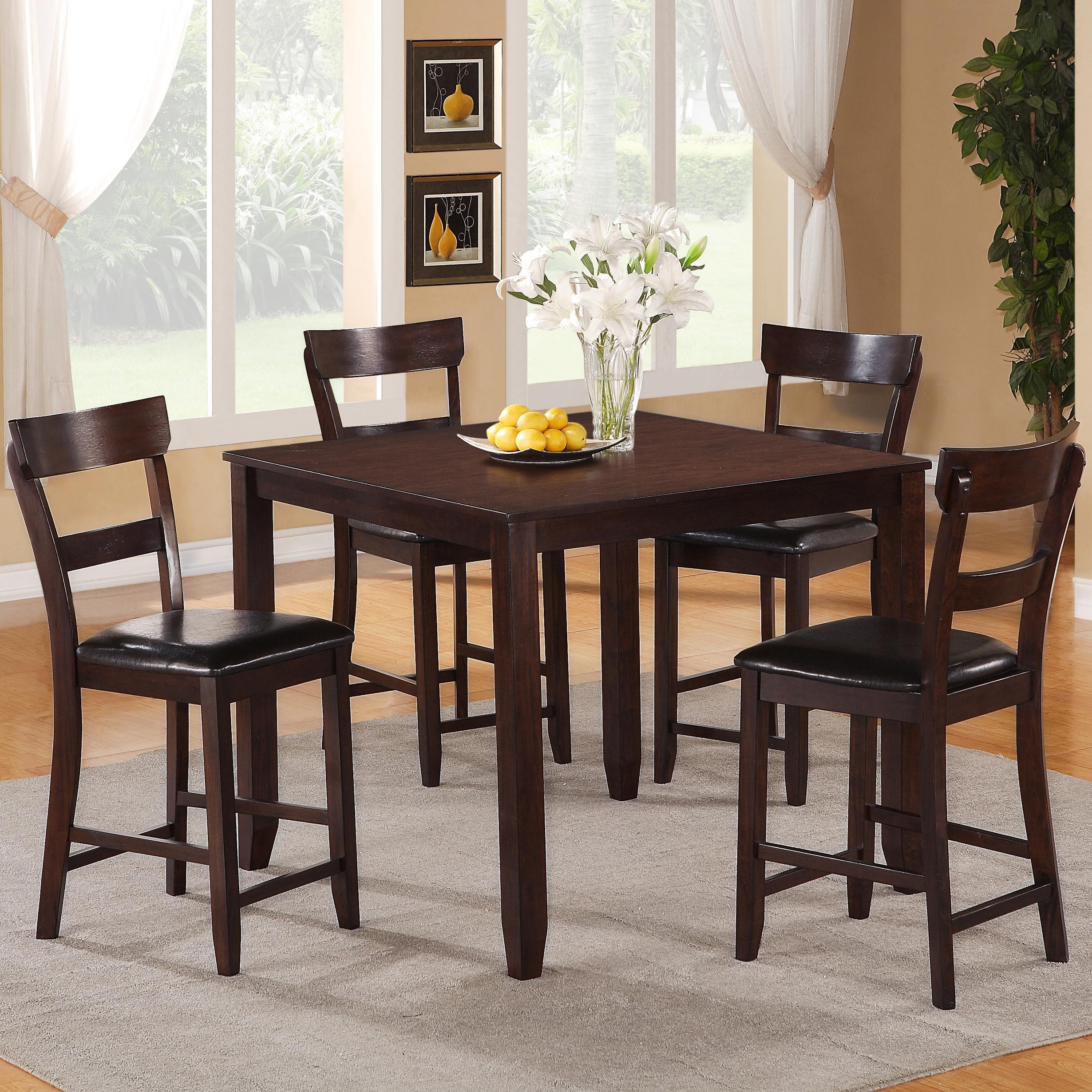 Crown Mark Henderson 5 Piece Casual Pub Set