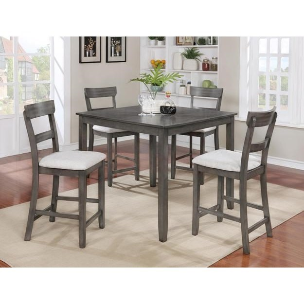 Charmant Crown Mark Henderson 5 Piece Casual Pub Set