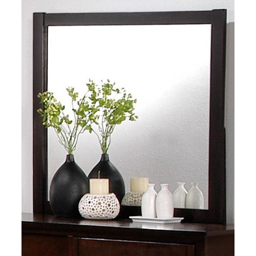 Crown Mark Ian Landscape Dresser Mirror