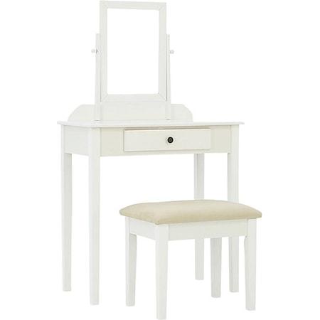 Vanity Table & Stool