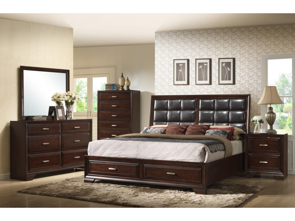 Crown Mark JacobQueen Bedroom Group